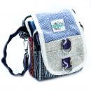 wholesale Travel and Sports Bags: Body-Cross Natural Hemp & Jhari Travel Bag