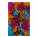 wholesale Wall Tattoos: Single Cotton Bedspread + Wall Hanging - Winter