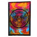 wholesale Wall Tattoos: Single Cotton Bedspread + Wall Hanging - Hamsa