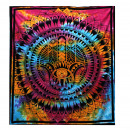 wholesale Wall Tattoos: Double Cotton Bedspread + Wall Hanging - Hamsa