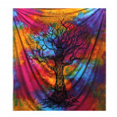 wholesale Wall Tattoos: Double Cotton Bedspread + Wall Hanging - Winter Tr