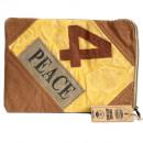 wholesale Notebooks & Tablets: Vintage Bag - Tablet Pouch-4 Peace