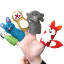 wholesale Jewelry & Watches: Felt Finger Puppet - Assorted