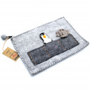 wholesale Children's Furniture: Tablet Pouch with Finger Puppets