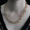 wholesale Beads & Charms: Chipstone & Bead Necklace - Smoky Quartz