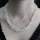 wholesale Beads & Charms: Chipstone & Bead Necklace - Opal