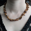 wholesale Beads & Charms: Chipstone & Bead Necklace - Tiger Eye