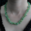 wholesale Beads & Charms: Chipstone & Bead Necklace - Jade