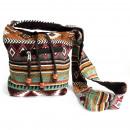 nagyker Táskák és utazási kellékek: Jacquard táska - Csokoládé pántzsák