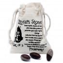 mayorista Bufandas, gorros & guantes: Lingam de una pulgada - 3 piedras (4 bolsas)