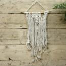 Makramee Wandbehang - Der Hochzeitssegen