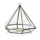 mayorista Jardin y Bricolage: Terrario de cristal - Diamante grande