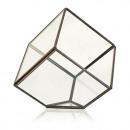mayorista Jardin y Bricolage: Terrario de cristal - cubo en la esquina