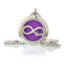 Großhandel Schmuck & Uhren: Aromatherapie Schmuck Halskette - Infinity Love 25