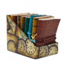 wholesale Notebooks & Tablets: Mini Assorted Leather Notebook (10x7.5 cm)