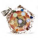 wholesale Pendant: Orgonite Power Pendant - Octagon Chakra