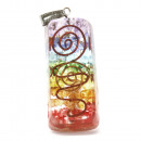 wholesale Beads & Charms: Orgonite Power Pendant - Rainbow Copper Attractor