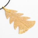 wholesale Necklaces: Necklace - Festive Fir - Gold