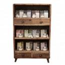 wholesale Consumer Electronics: Shelf Display - Recycled Wood - 100x40x160cm