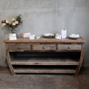 wholesale DVD & TV & Accessories: Centerpiece Recycled Wood Table - 180x60x80cm
