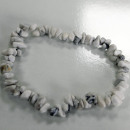 ingrosso Gioielli & Orologi: Braccialetto di pietra preziosa - Diaspro bianco