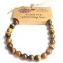 grossiste Bijoux & Montres: Bracelet électrique - Oeil de tigre