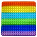 wholesale Drugstore & Beauty: Push Pop XXL - Pop it - square multicolored - 3 pi