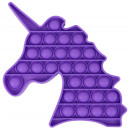 groothandel Wellness & massage: Push Pop - Bubble Pop - Pop it - Horse Purple - 3