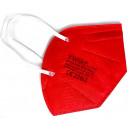 FFP2-Masken 10 Stück/Box zertifiziert Rot