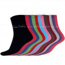 Pierre Cardin calcetines 12 pares 12 colores PC51B