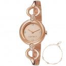 Esprit Uhr ES107332002 Naomi Geschenk Set Armband