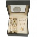 Großhandel Armbanduhren: Montine Uhr  MOX4487L11 Geschenk Set Schmuck