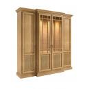 wholesale Business Equipment: Showcase wall unit 4-door duet 214 x 212 cm pine