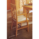 wholesale Cushions & Blankets: Dining room chair with armrests and upholstered cu