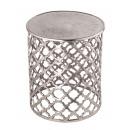 Decoratieve tafel metalen bijzettafel ø 40 x 45 cm