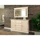 wholesale Mirrors: Sideboard set with mirror Duett B 162 H 196 cm pin