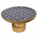 Cake plate cake stand with foot ø 25.5 cm mango