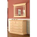 Sideboard-Set mit Spiegel mit Holzleisten Duett Pi