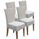 groothandel Tuinmeubelen: Eetkamerstoelen rotan stoelen serre Cardine