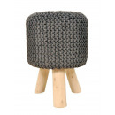 wholesale Childrens & Baby Clothing: Stool knit upholstered stool pouf stool with