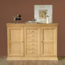 Highboard highboard Quadro, solid pine