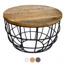Coffee table Living room table Side table Metallge