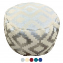 wholesale Small Furniture: Design pouf kilim floor cushion ottoman footstool