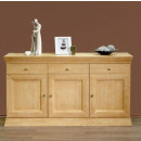 wholesale furniture: Sideboard Quadro 3 doors, 3 drawers Pi