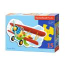 Puzzle CONTOUR 15 éléments drôle avion