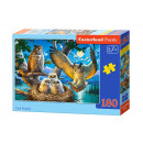 Puzzle 180 elementów OWL FAMILY