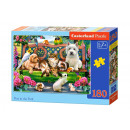 Puzzle 180 pezzi ANIMALI NEL PARCO