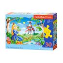 elementi puzzle 30 La Princess e il ranocchio