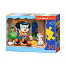 30 pezzi di puzzle CAT IN BOOT