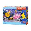 30 pezzi di puzzle di Cinderella